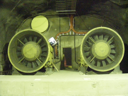 Howden AFSO 525kW Axial Flow Fans working as Boosters